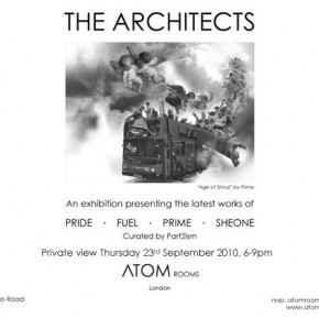 "Atom Rooms presents ""The Architects"" Curated by Part2ism"