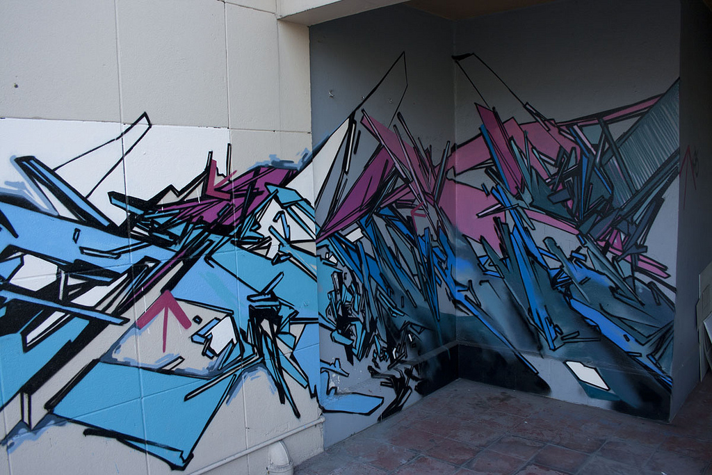Kidghe Mexico City. Post graffiti ...