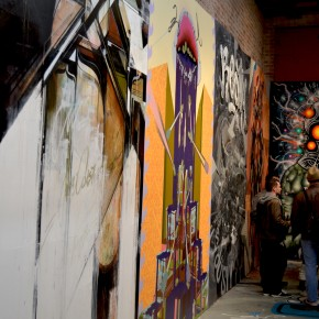 """The Indoor Mural Project"" at 941 Geary"