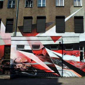Autone and Tone New Mural Poznań Outerspaces