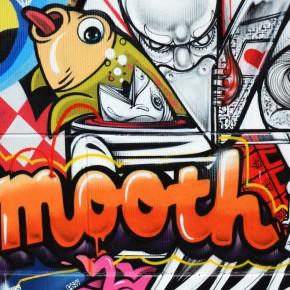 How & Nosm | Dabs & Myla | Jersey Joe New Mural Los Angeles