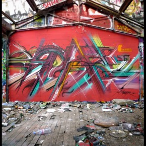 Hopare Video Abandoned Area Mural