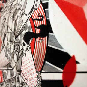 "How and Nosm ""Achtung"" Recap at Known Gallery"