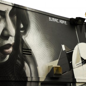 *Update Timelapse Video El Mac & Augustine Kofie New Mural for KROQ and Redbull Soundspace