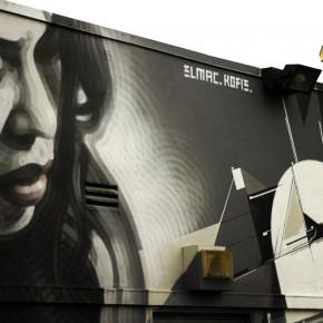 *Update Timelapse Video El Mac & Augustine Kofie New Mural for KROQ and Redbull Soundspace