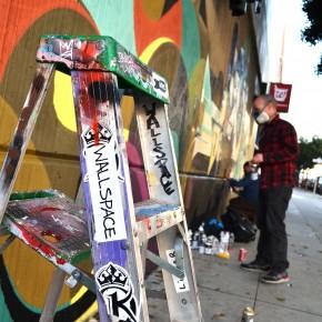 Matt W. Moore Augustine Kofie Poesia and Geso New Walls