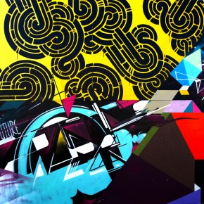 Art Basel Graffuturism Collaboration Wall