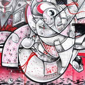 "How & Nosm Art Basel Miami ""For the Birds"""