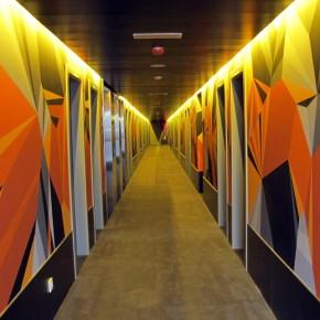 Video Recap Matt W. Moore  Paints Hotel Vincii Bit Barcelona