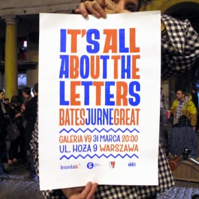 "BATES JURNE & GREAT ""It's All About the Letters Exhibition"""