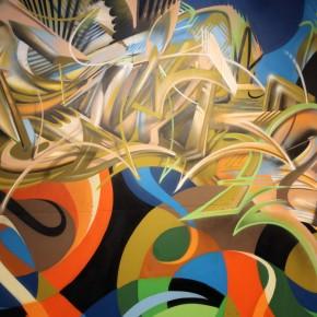 "Matt W. Moore and Tim Clorius ""Free Form Flow"" exhibition"