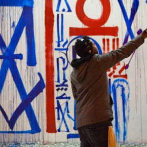 Retna Bowery and Houston NYC New mural Installation