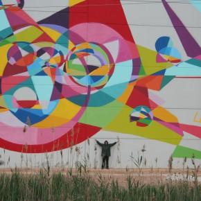 New Mural Kenor Catalunya Spain