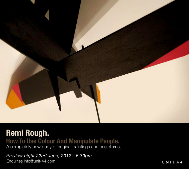 """Update Remi Rough """"How to use colour and manipulate people"""" Photo"""