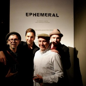 "Photo Recap ""EPHEMERAL"" CircleCulture Gallery and Pret A Diner Berlin"
