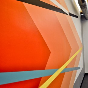 Video Christopher Derek Bruno New Mural at Mailchimp Headquarters Living Walls