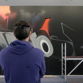 """Preview Solo Exhibition Adrian """"SMASH137"""" Falkner """"PUBLIC ENEMY"""""""