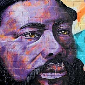 "Video Madsteez and Roid Mural ""King Kalākaua"" for Pow Wow Hawaii"