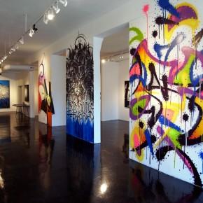 "Alex ""Defer"" Kizu, Mist & Smash 137 ""Between The Lines"" at Fabien Castanier Gallery"