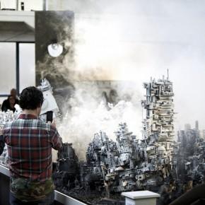 "Alexander ""Biserama"" Becherer ""Paratropolis"" Solo Show at Galerie Kesselhaus Opening Photos"