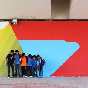 Mural Elian Puente Public Art Project Argentina