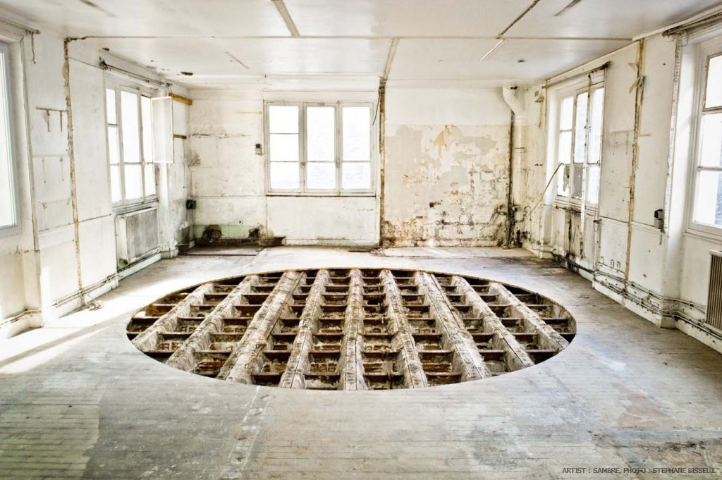Update video sambre insitu installation at les bains for Les bains douches