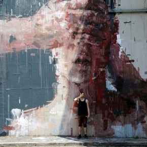 Video Mural Update Borondo in Rome