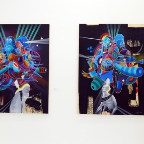 "Final Recap Doze Green ""New Works"" #Graffuturismparis at Openspace Galerie"
