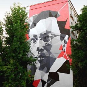 """Mural Update Zuk Club """"RUSSIAN AVANT-GARDE TRIPTICH"""""""