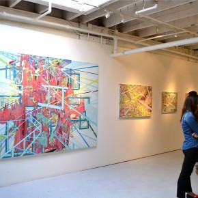 "Photo Recap Group Exhibition ""Geometry of Chance"" Mirus Gallery"