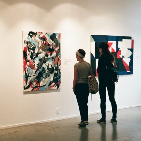 "Photo Recap ""From Lines Into Abstraction"" Group Exhibition at Galerie d'art Yves Laroche"