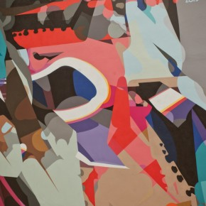 """Mural Update Sat One """"Diary"""" at Cityleaks Festival Cologne"""