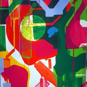 """Preview Sowat Lek and Jon One Collaboration for Galerie du Jour Agnes B """"Etats des lieux"""""""