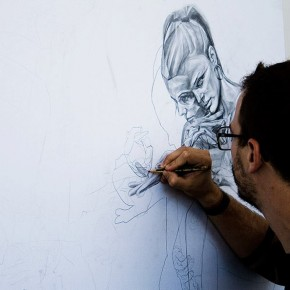"Vesod Print Release for Stroke Art Fair 2013 ""The Lost Ones"""