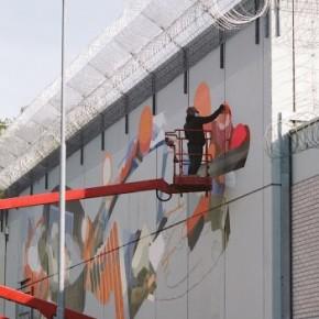 """Mural Update Sat One """"TI:ME"""""""