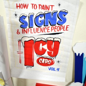 """Preview Group Exhibition The Pre-Vinylite Society """"Icy Caps"""" at The Cannery"""