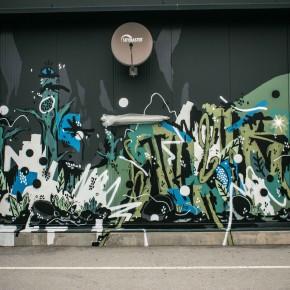 "Video Mural Update KNARF, MAFIA and FRESH MAX ""3500"""
