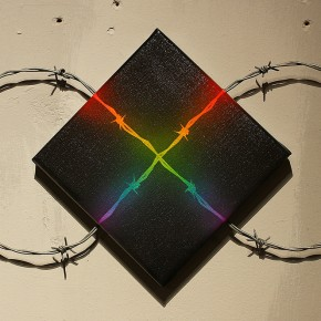 "SHOK-1 ""X-Rainbow"" at Pictures on Walls London"