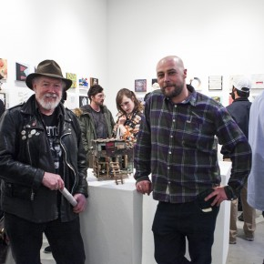 *Update Opening Night Recap Space//Squared Group Exhibition curated by Sven Davis at White Walls Gallery