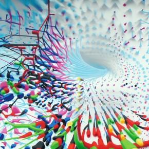 "Proembrion Mural ""Exuberant"" F[R]AME-FESTIVAL"