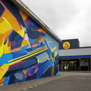 SatOne and Nawer Mural in Eindhoven