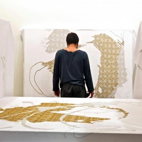 """Preview Yaze """"The Conference of Birds"""" at David Bloch Gallery Marrekech"""