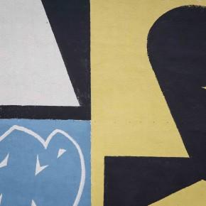 "Mural Update Erosie ""Linguaggio Universale"" Abstractism ALT!rove Street Art Festival 2015"