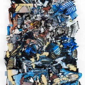 Preview DEM189 Solo Exhibition 'Ricochet' at Backwoods Gallery