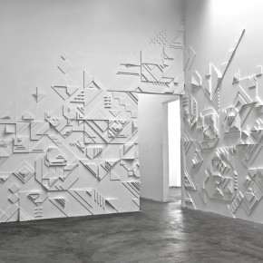"Recap Matt W. Moore ""Shadovvs"" Solo Exhibition at 886 Geary Gallery"