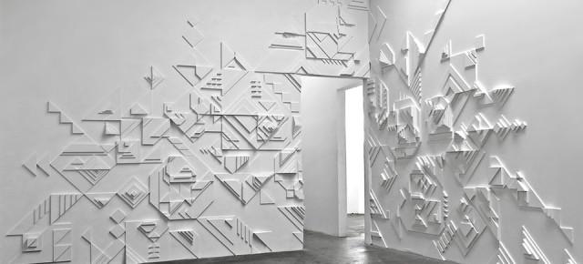 """Recap Matt W. Moore """"Shadovvs"""" Solo Exhibition at 886 Geary Gallery"""